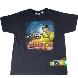 Kyle Busch Nascar M&Ms Graphic T Shirt Size XL